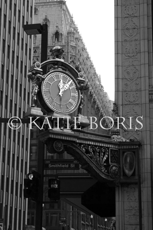 Kaufmann's Clock- Pittsburgh, PA- 8x10 Print