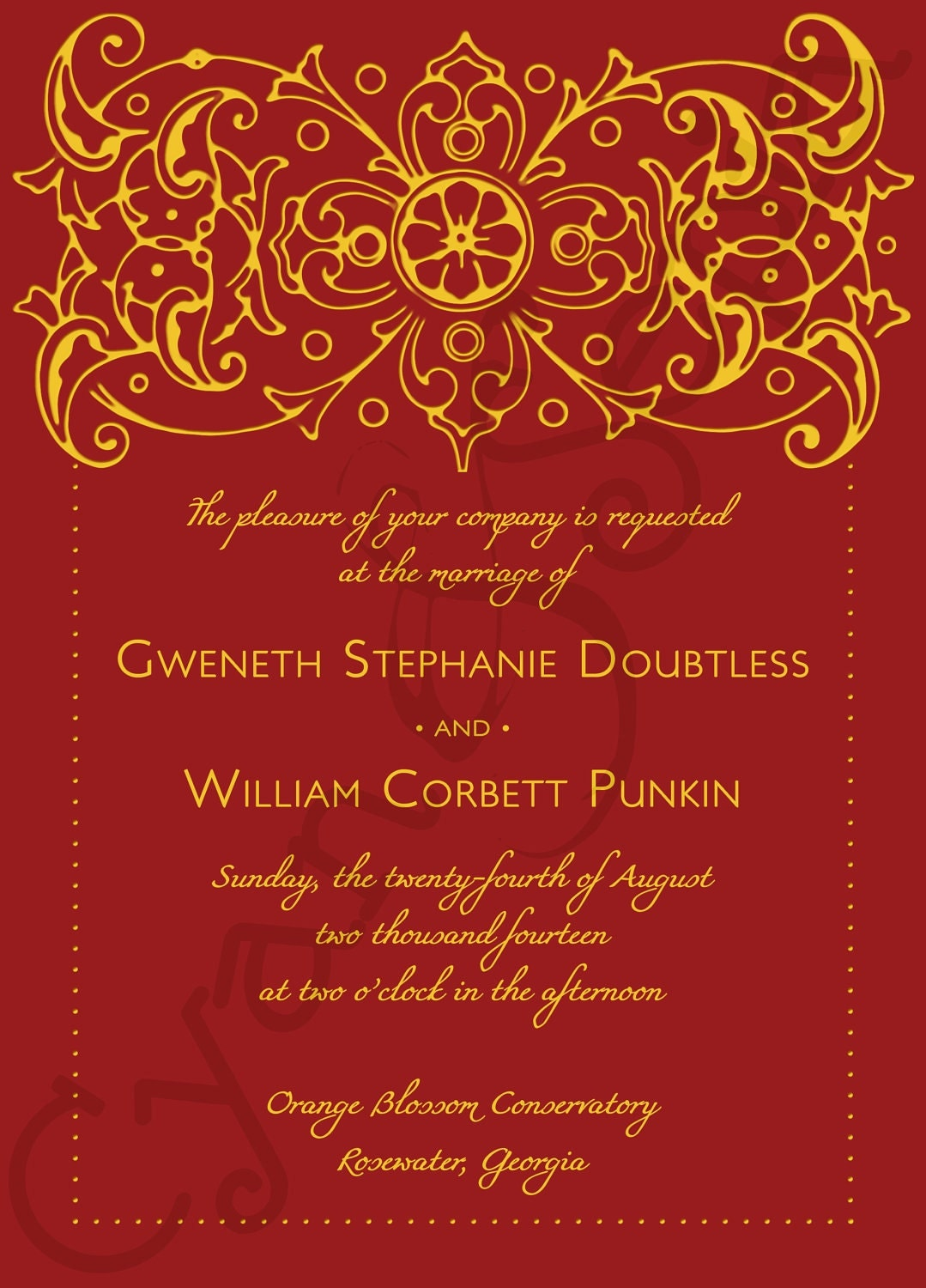 Indian Wedding Invitations Text with beautiful invitations layout