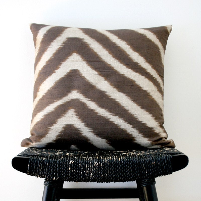 SAFARI Pure Silk Cushion Cover 45 x 45 cm