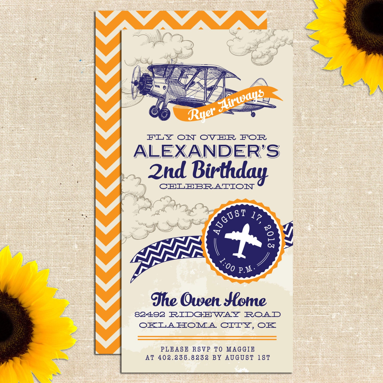 Vintage Airplane Party Printables Airplane Birthday Airplane: Vintage Airplane Birthday Party Printed By YellowBrickGraphics
