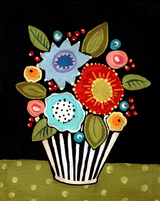 Flower Pot print