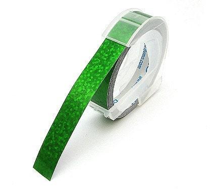 9mm Red and Green Glitter Tape  set of 2 (Writer Refill Tape)