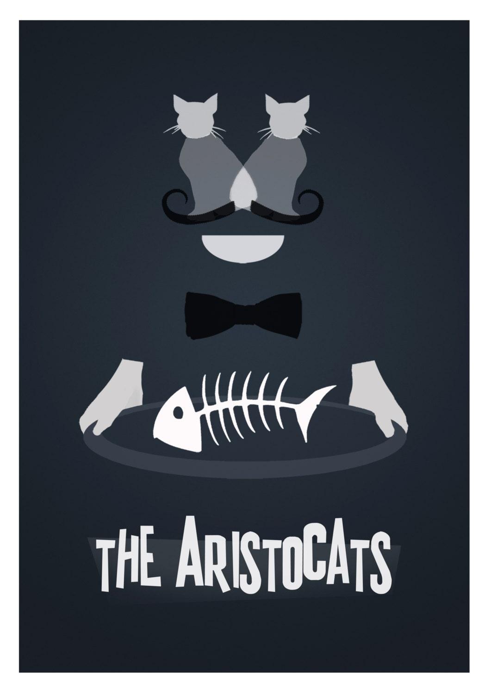 Disney's The Aristocats Minimalist Poster - rowansm