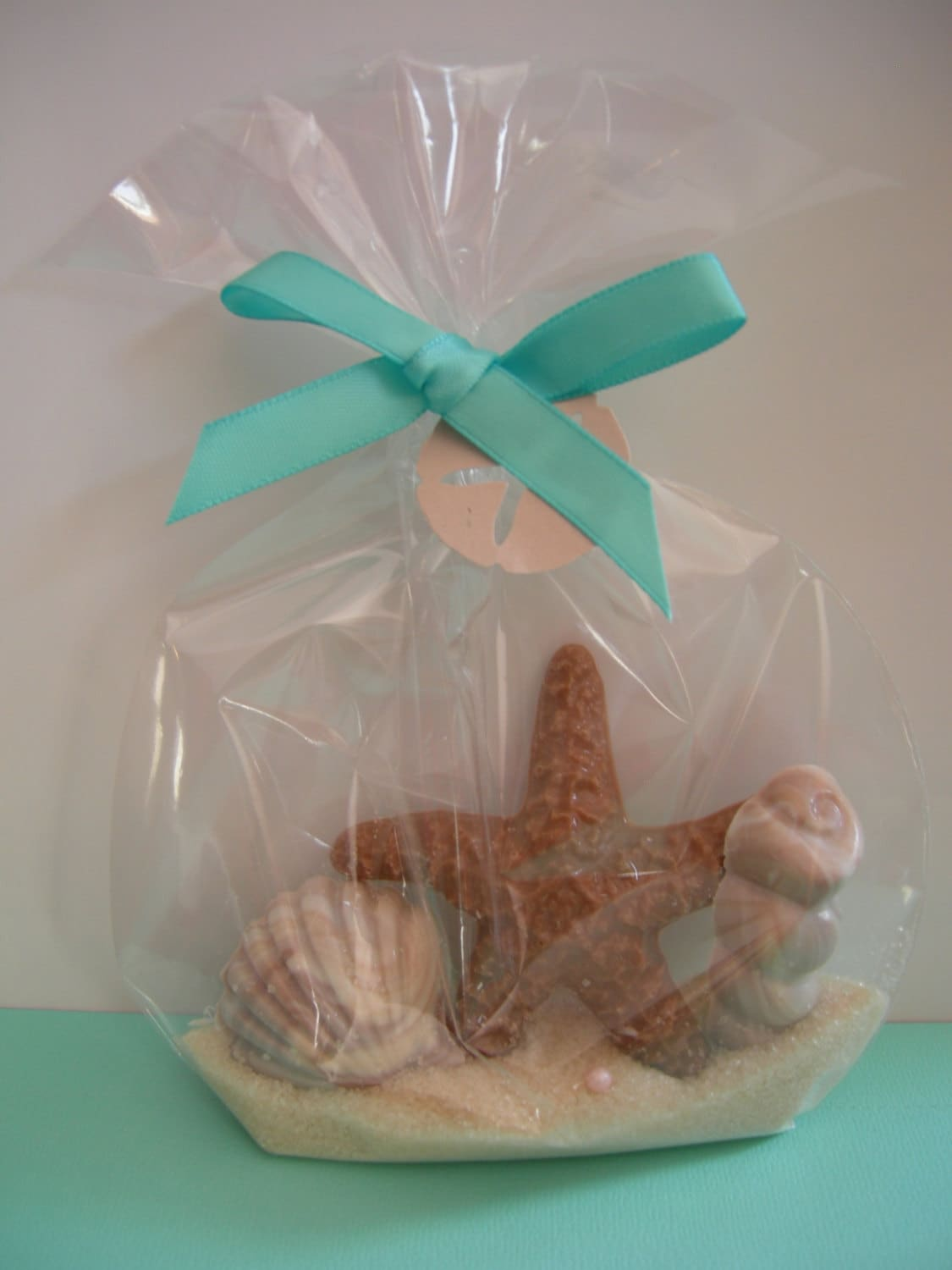 Beach Wedding Supplies Starfish Shells : Starfish and sea shell favors for beach themed party or wedding