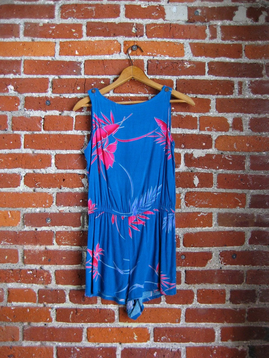 Tropical Romper (XS - S)