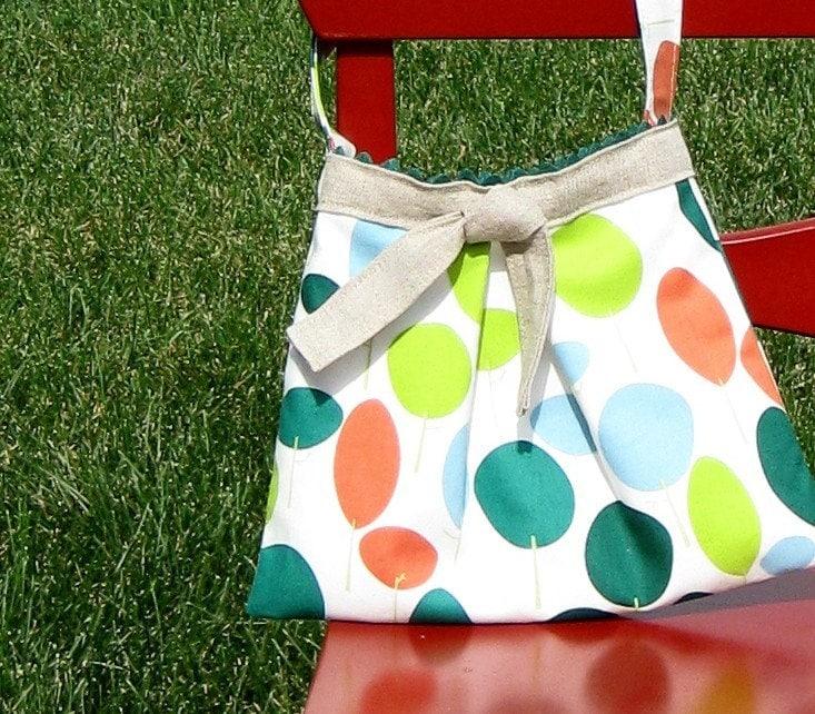 modern tree girls purse