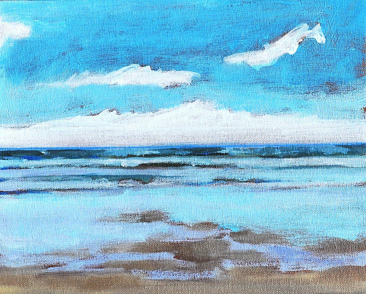 Blacks Beach Painting San Diego La Jolla California Original Fine Art