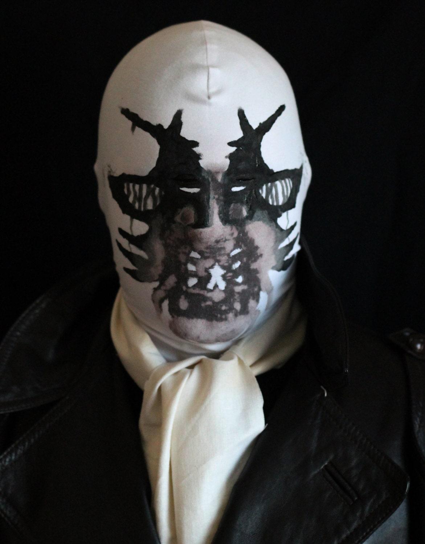 Сделать маску как у роршаха
