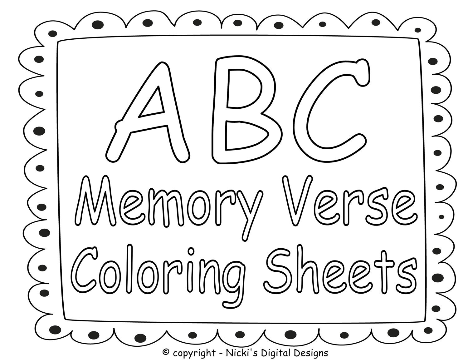 bible verses with colouring pages