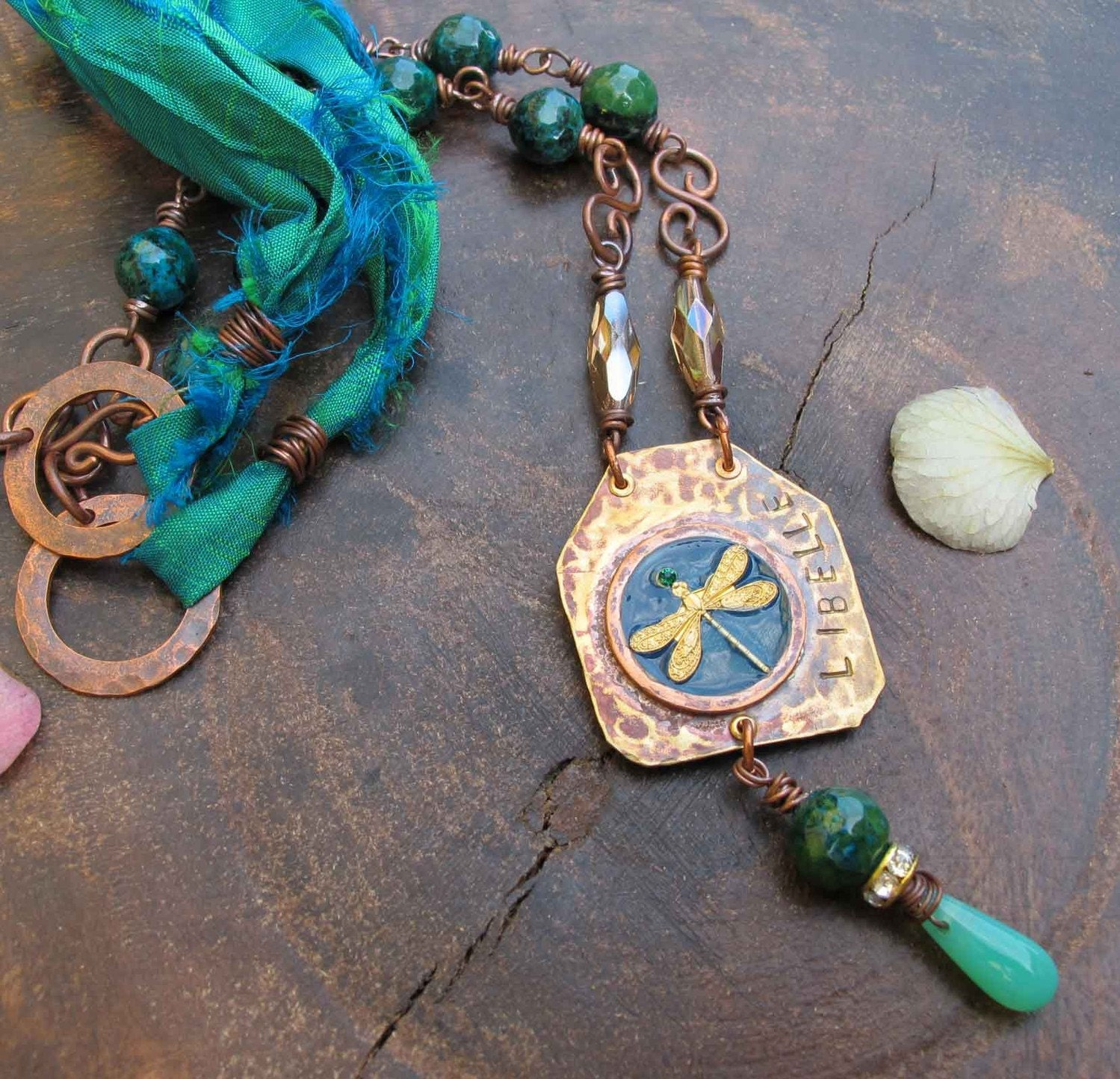 Libelle - Dragonfly Necklace