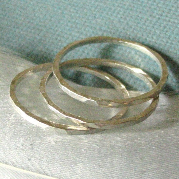 Le Petit Stacking Rings Set of 3 - Made to Order