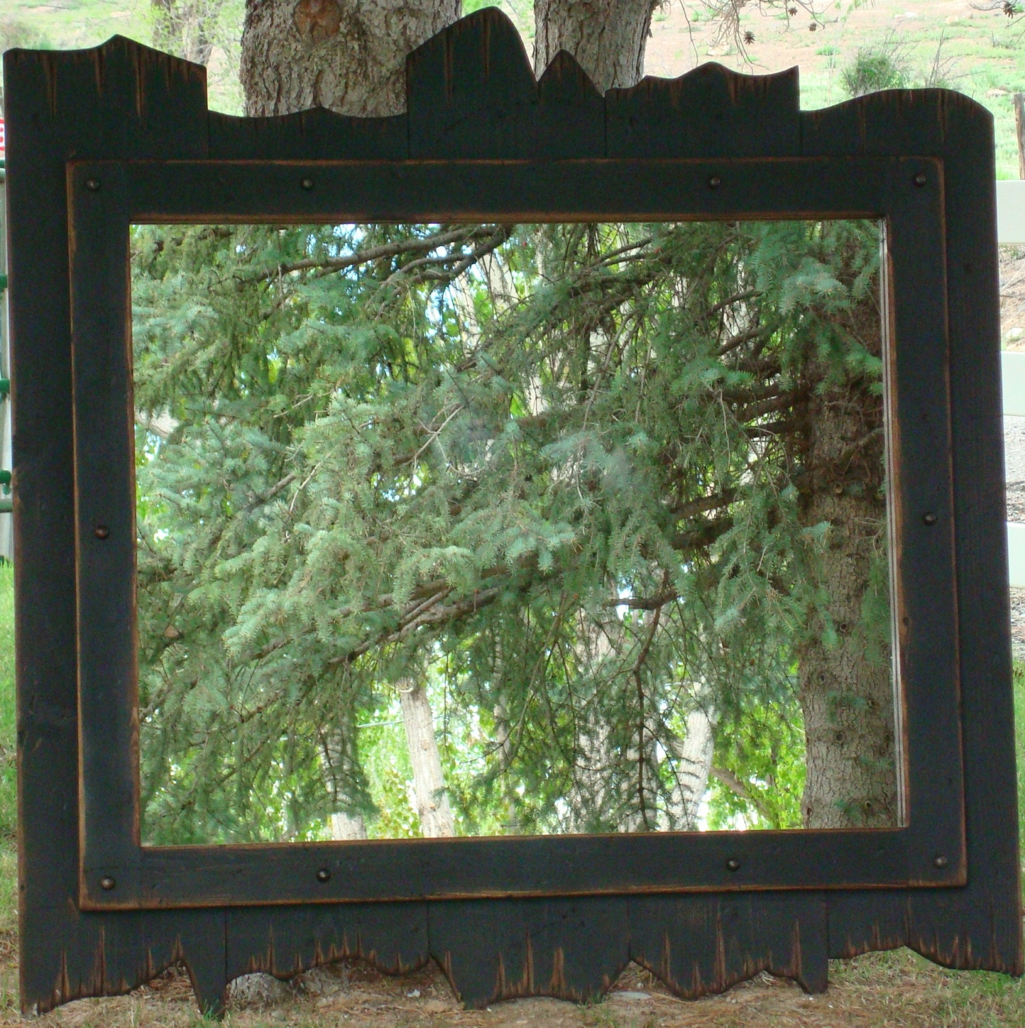 custom barnwood mirrors wood mirrors rustic design small or large