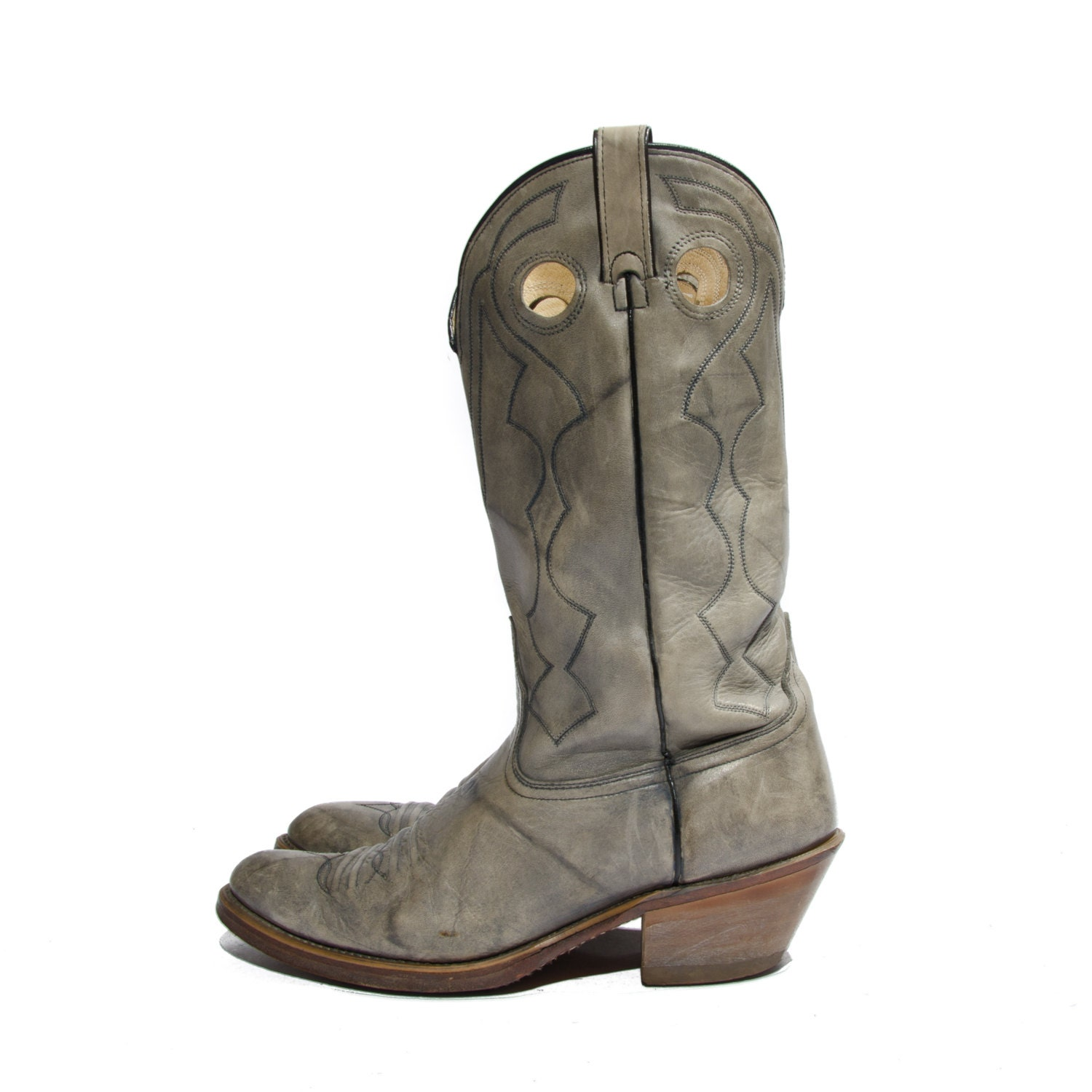 s gray acme western cowboy boots size 11 by