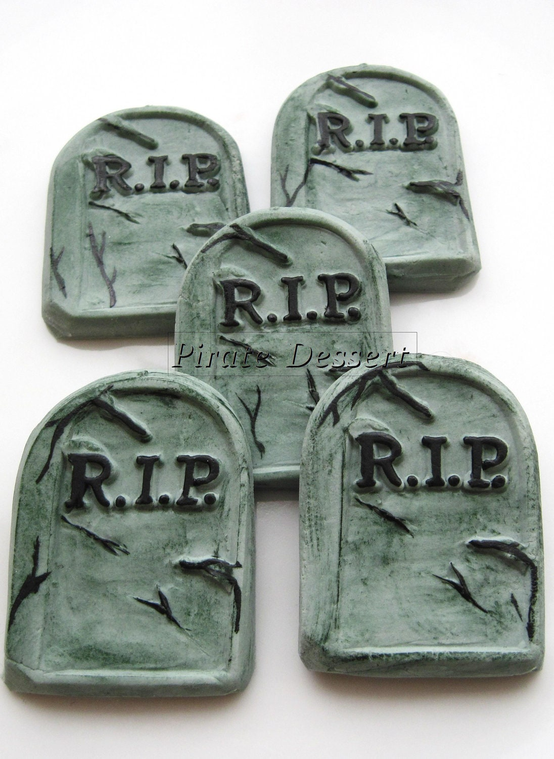 Tombstone Cake Toppers