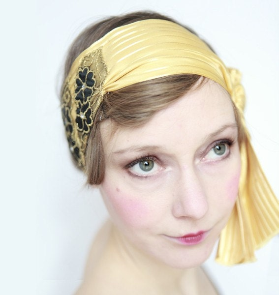 Gold Charleston Headband