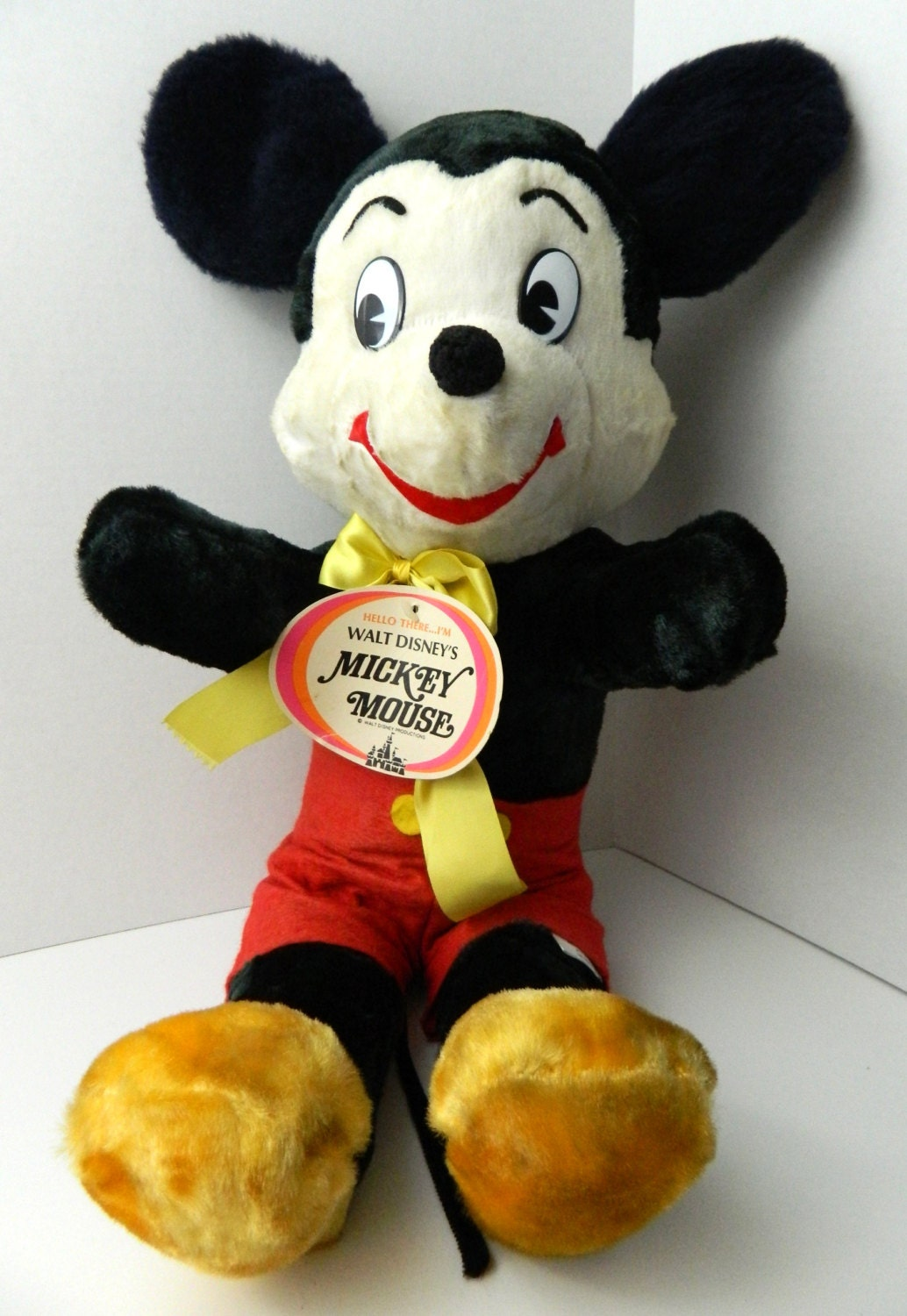 Vintage 60s Deadstock Mickey Mouse