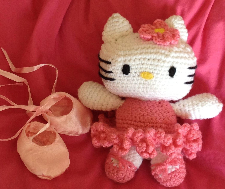 Hello kitty ballerina crochet - Ballerine hello kitty ...