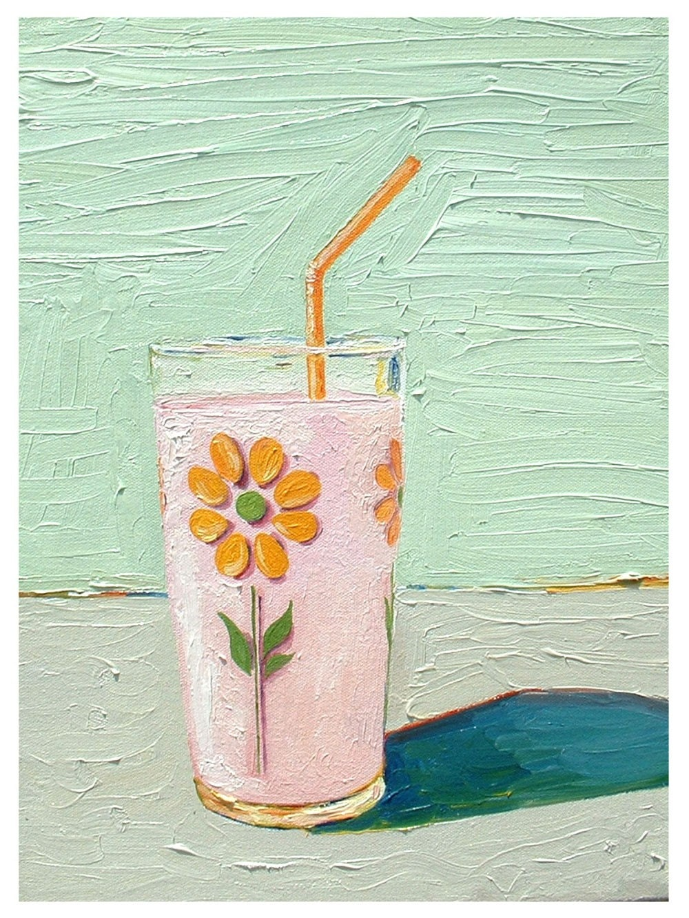 Daisy Glass Milkshake