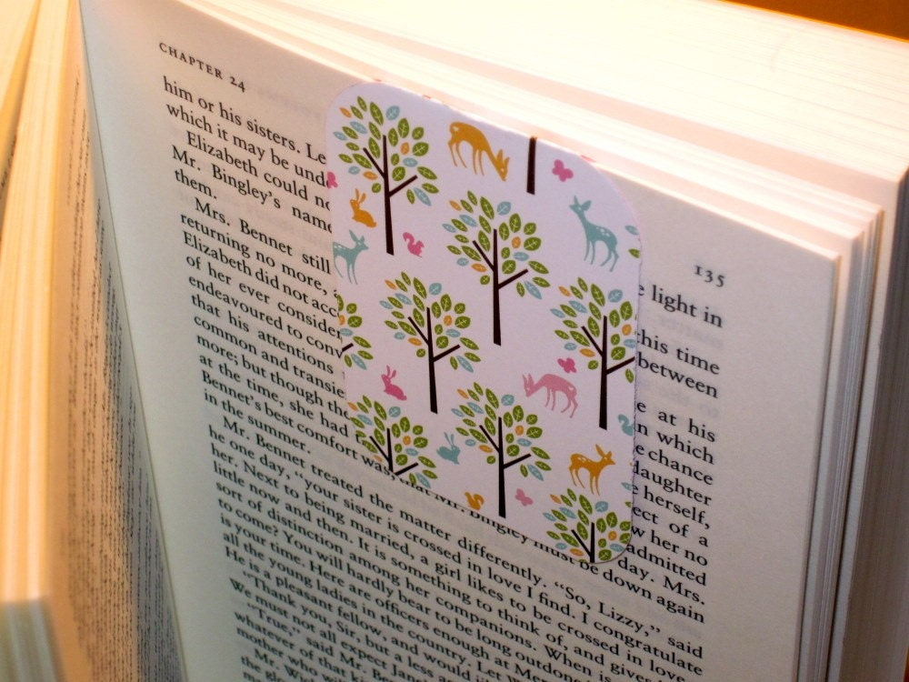 "Magnetic Bookmark ""Forest Wonderland"""