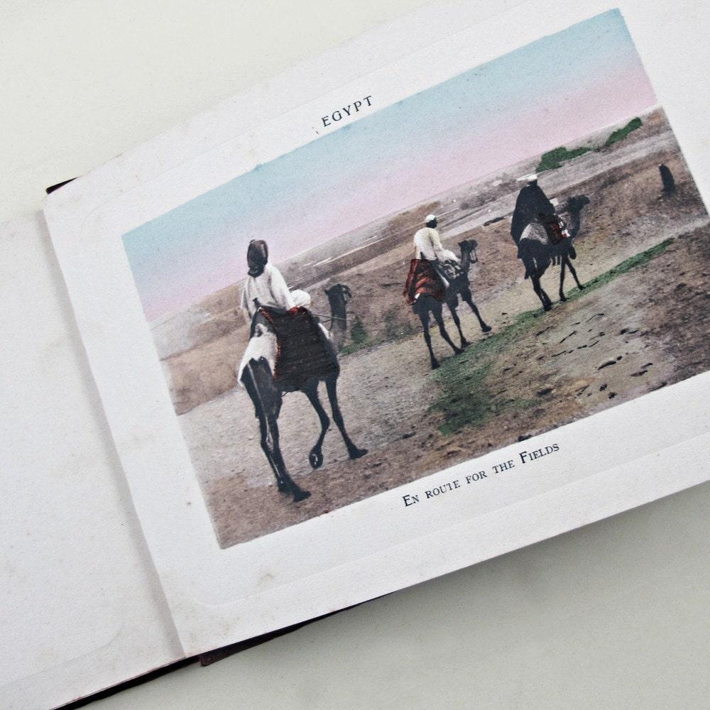 Antique Album Cairo and its Environs c 1910