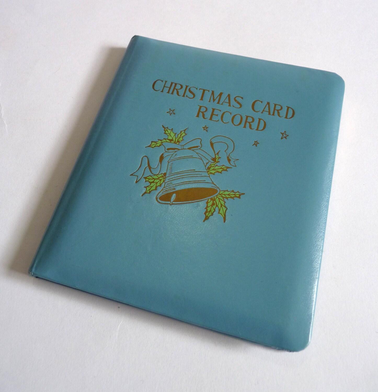 christmas card address books