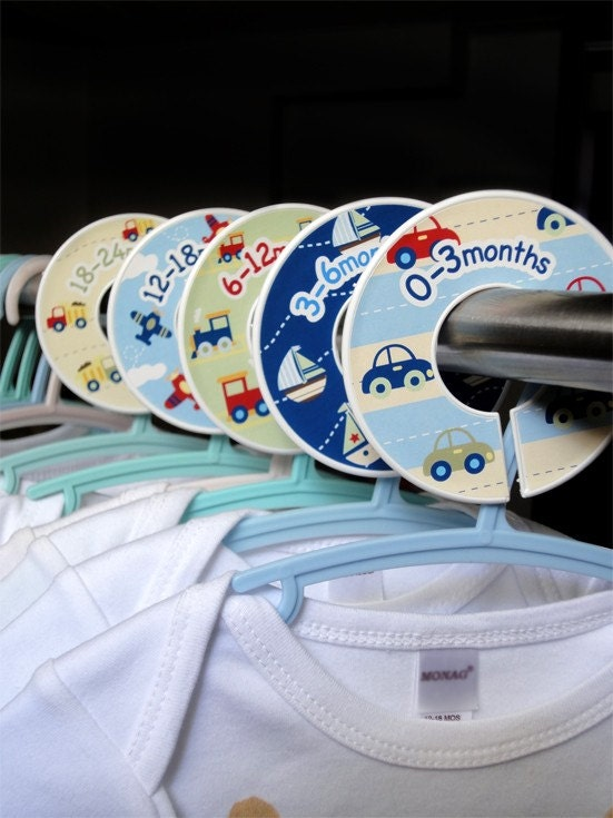 Baby Closet Dividers Clothing Organizers Planes by potatopatch