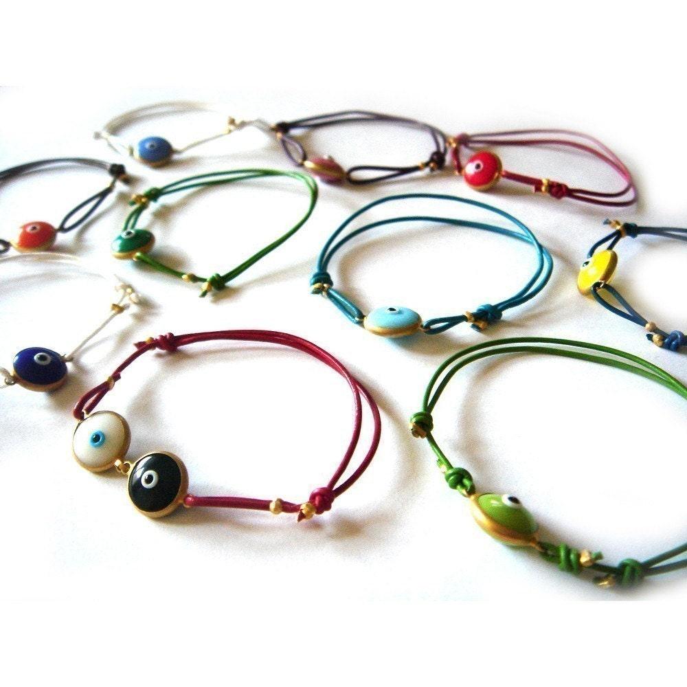 10 Evil Eye Bracelets