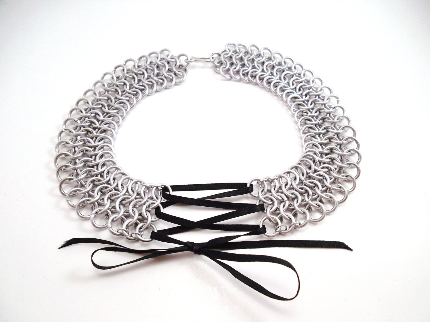 Chainmail Corset Necklace Choker