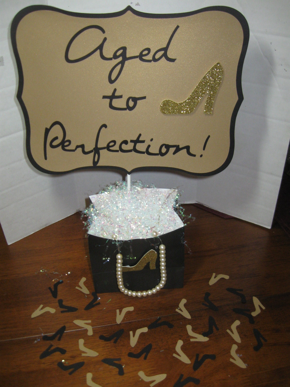 Unavailable listing on etsy for 60th anniversary party decoration ideas