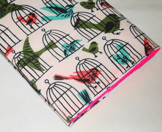 Retro Caged Birdies Weekly Academic Planner 2011 / by WolfBait from etsy.com