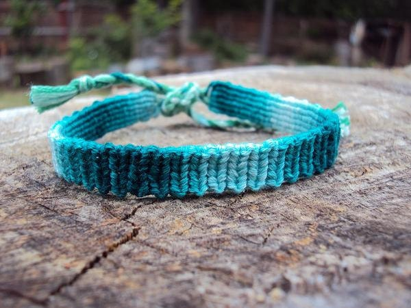Turquoise Mirage Knotted Bracelet