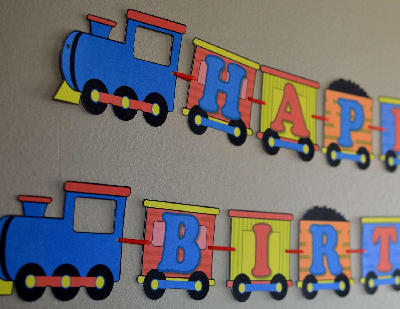 Thomas The Train Birthday Decorations