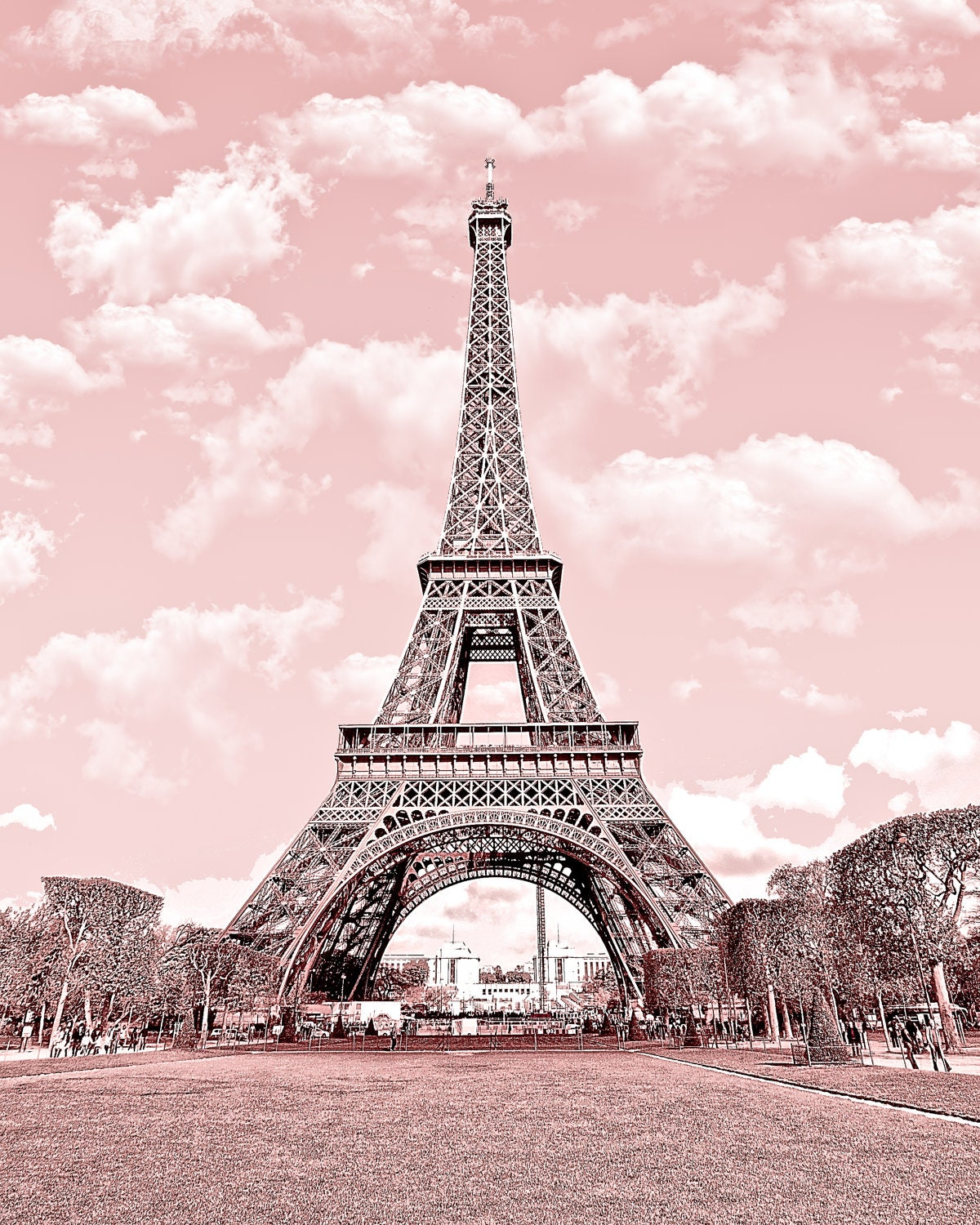 Buy 2 Get 1 Free Paris In Pink Eiffel Tower By