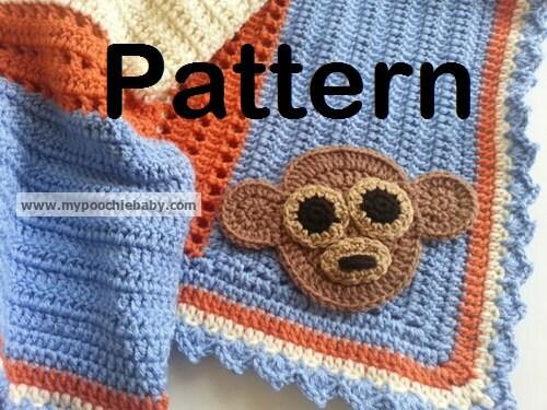 Crochet Baby Blanket Monkey Pattern : Unavailable Listing on Etsy