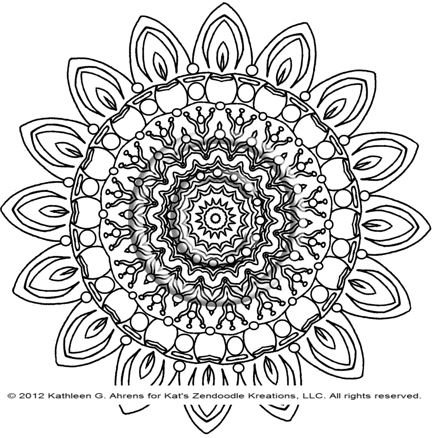 My Sunshine Song Coloring Page