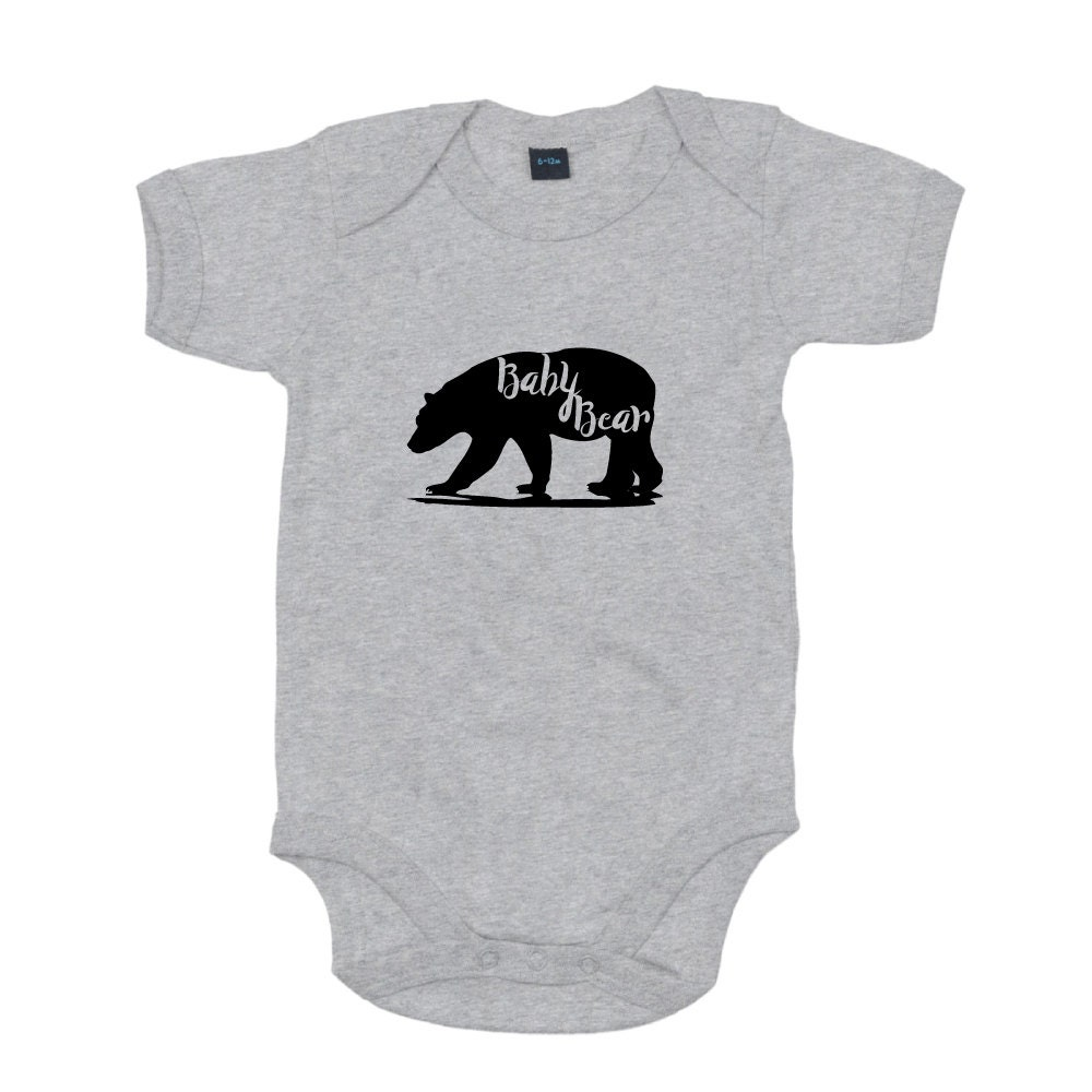 Baby Bear Vest New Baby Gift Baby Shower Present Baby Grow First Christmas Vest Baby Bear Bodysuit New Baby Bodysuit