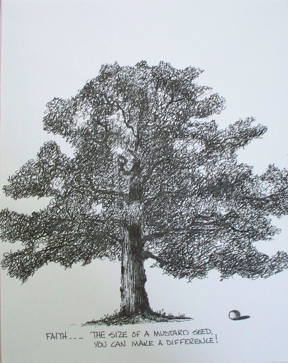 Mustard Seed Drawing Mustard Seed Picture Tree
