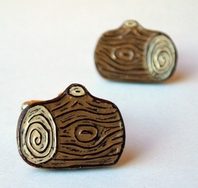 Bump on a Log Cufflinks