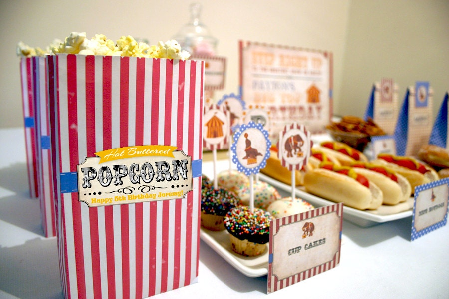 It's just a picture of Impeccable Popcorn Bag Printable