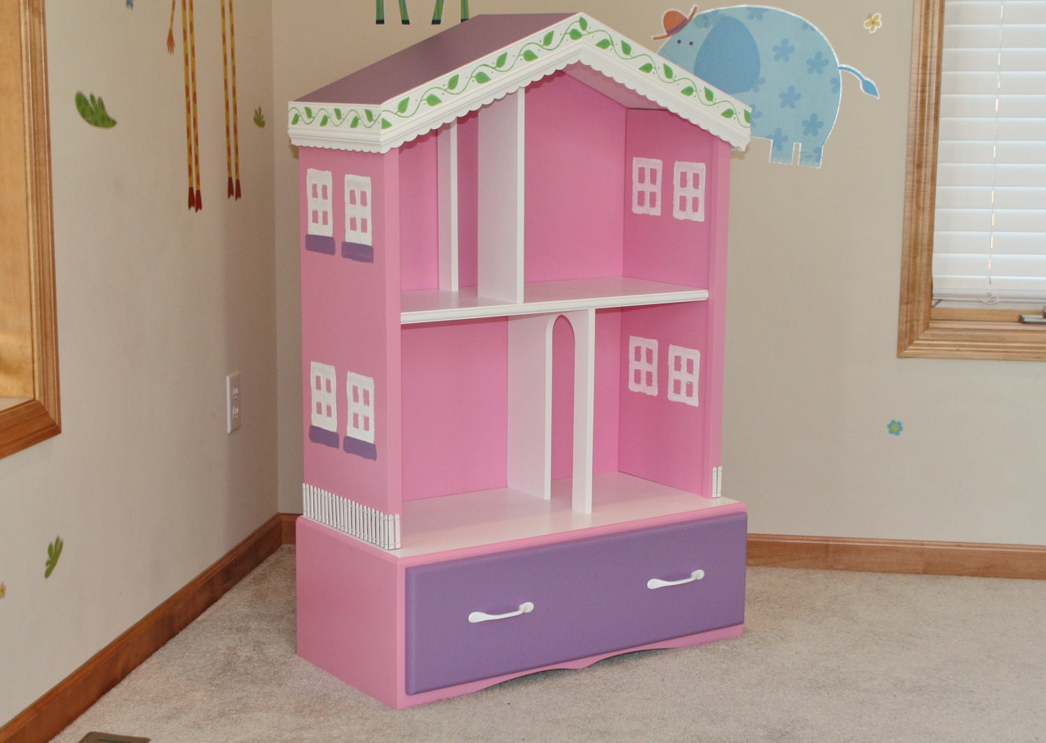 Barbie Doll House By Handcraftedbyneil On Etsy