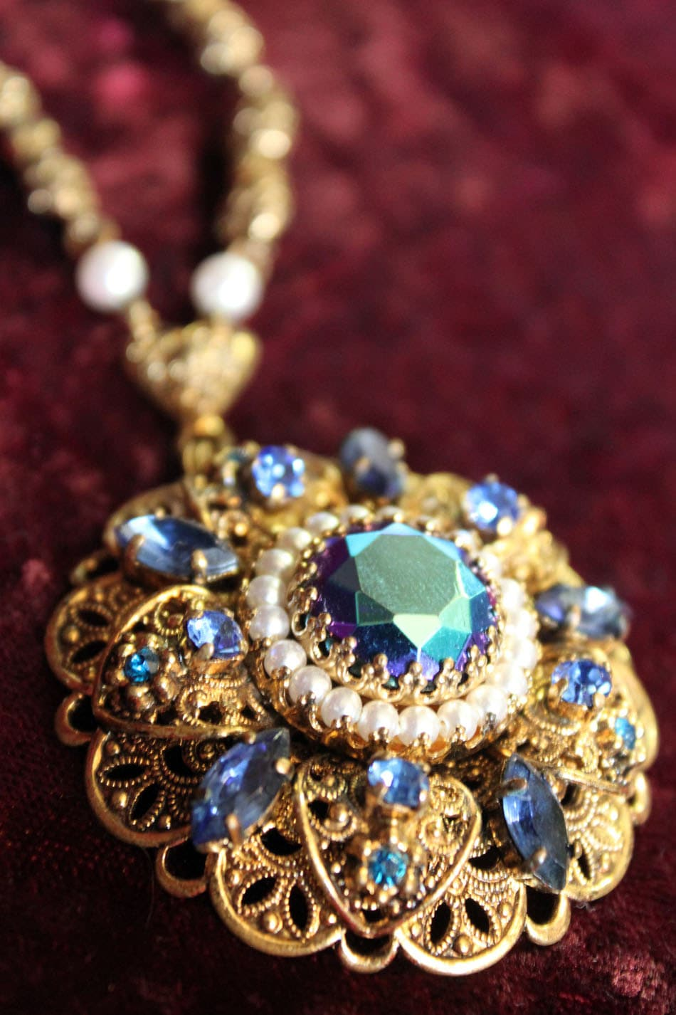 Reserved Vintage West Germany Costume Jewelry By