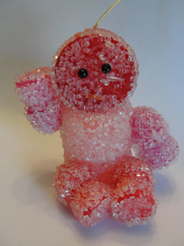 Retro Gumdrop Man ornament - BarnshopAntiques