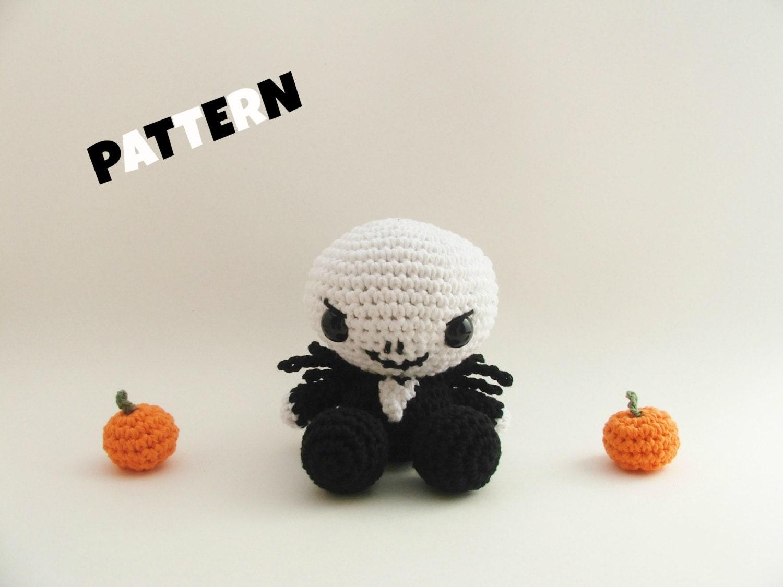 Crochet Jack Skellington / Crochet Pattern / by ...