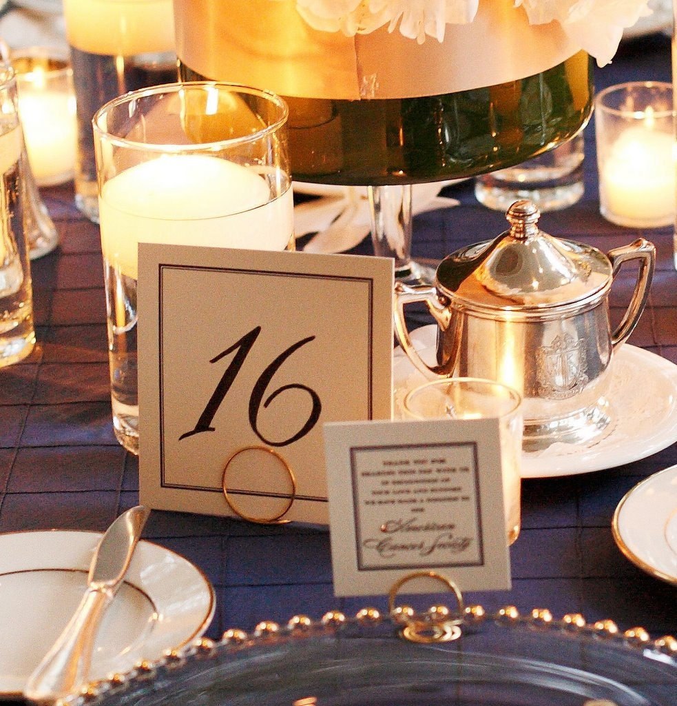 Reception Table Card Holders Wedding By HomesAndWeddings On Etsy