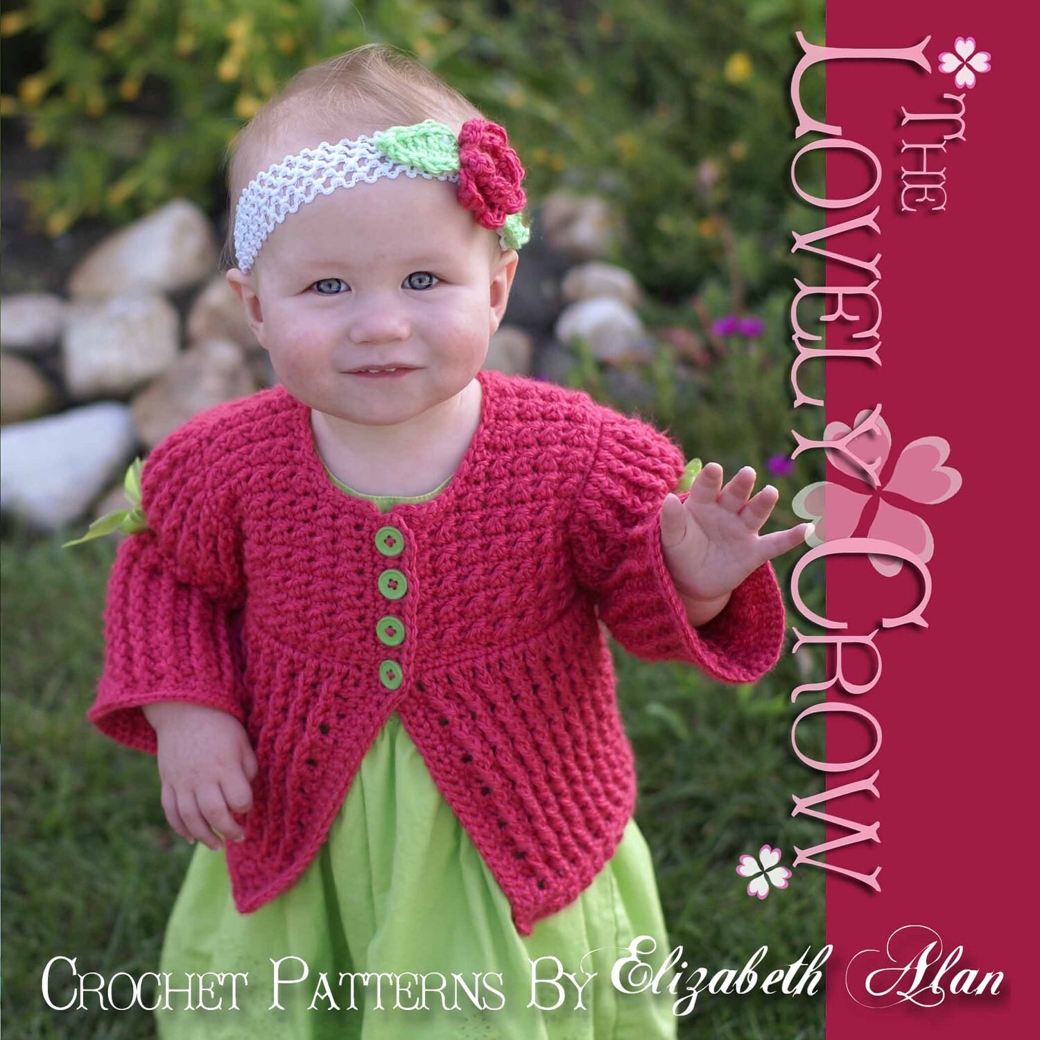 Baby Sweaters To Crochet Patterns : Baby Sweater Crochet Pattern Vest Sweater or Cardigan by ...