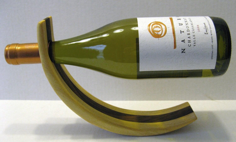 Wine bottle holder amazing balancing by boxnmor on etsy - Wine bottle balancer plans ...