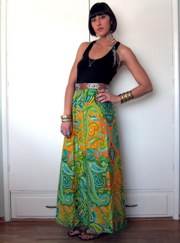 Dress up maxi skirt