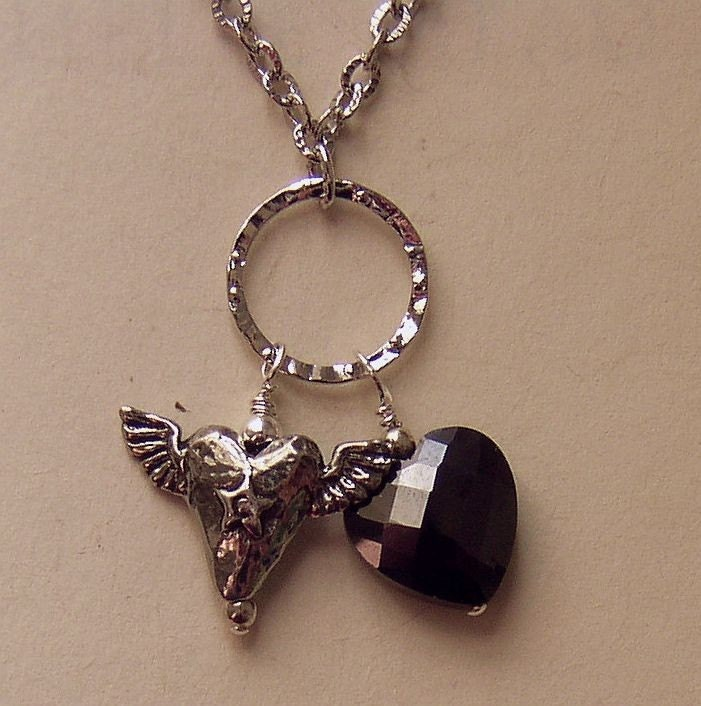 Adrian's Heart Charm Necklace