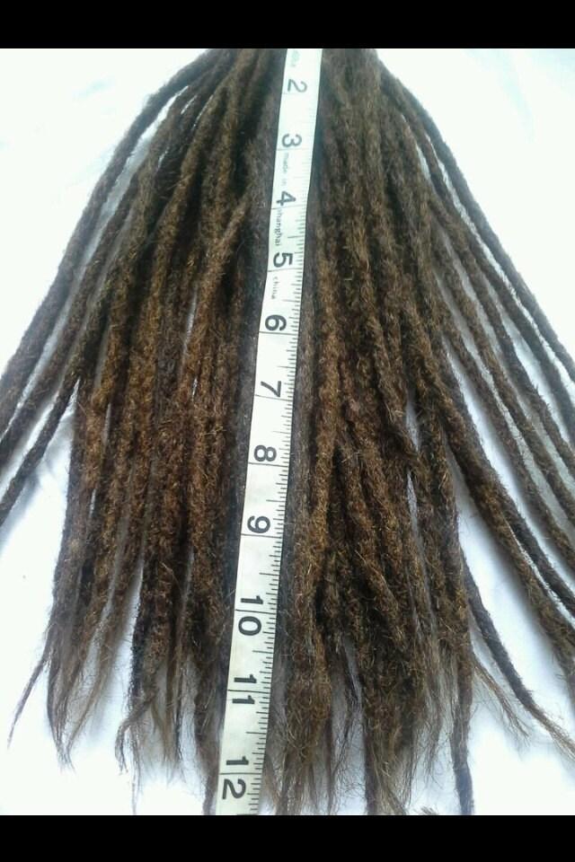 100 Human Hair Dread Extensions 45