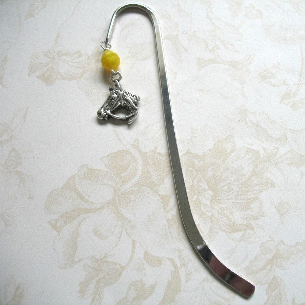 Equestrian - Horse Charm Bookmark.